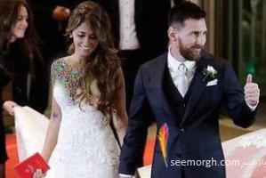 عروسی لیونل مسی: زیباترین عکس از مراسم عروسی مسی