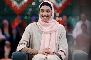 دختر حسن روحانی در کنار کیمیا علیزاده! عکس