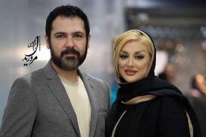 عکس جدید از کوروش تهامی و همسرش در جشن حافظ