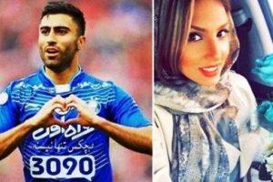 واکنش فرنوش شیخی به درخشش همسرش کاوه رضایی! عکس