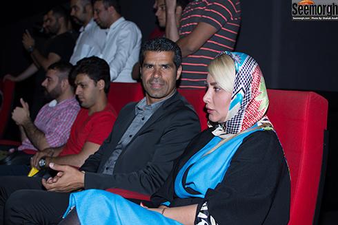 هادی ساعی و همسرش