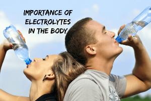 اختلال آب و الکترولیت در بدن و علل و علائم آن