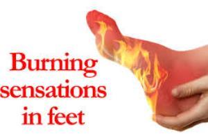 علت گزگز و سوزش کف پا چیست؟