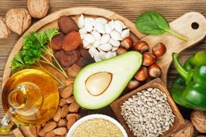 منابع غذایی ویتامین E
