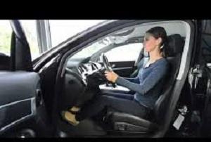 نحوه صحیح نشستن هنگام رانندگی