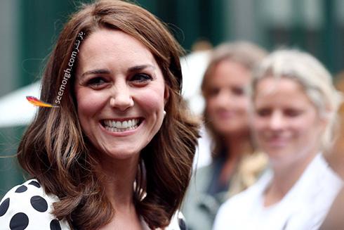 مدل مو جدید کیت میدلتون Kate Middleton  - عکس شماره 2