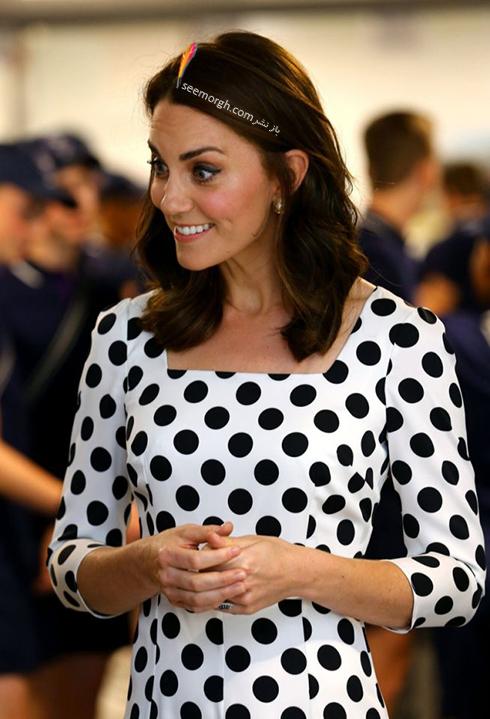 مدل مو جدید کیت میدلتون Kate Middleton  - عکس شماره 5