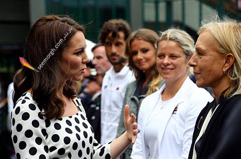 مدل مو جدید کیت میدلتون Kate Middleton  - عکس شماره 3
