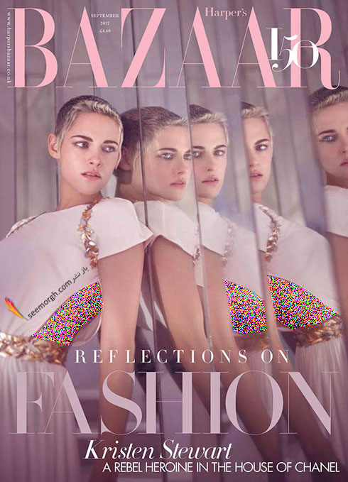 عکس های کریستی استوارت  Kristen Stewart برای مجله هارپر بازار Harpe Bazzar - عکس شماره 3