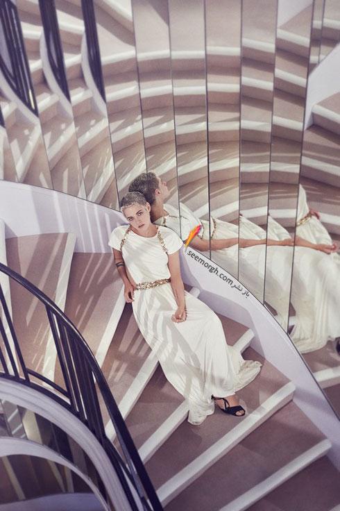 عکس های کریستی استوارت  Kristen Stewart برای مجله هارپر بازار Harpe Bazzar - عکس شماره 1