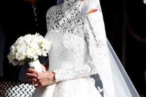 لباس عروسی نیکی هیلتون خواهر پاریس هیلتون