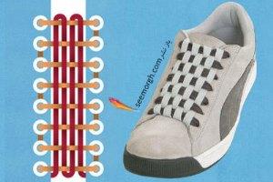 بند کفش های تان را به مدل های زیبا و خاص ببندید