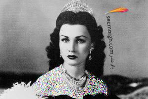 مدل لباس عروس و لباس شب به سبک فوزیه همسر اول محمدرضا پهلوی