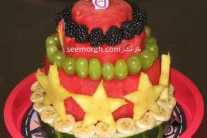 شب یلدای تان را با کیک هندوانه ای شیرین و متفاوت کنید
