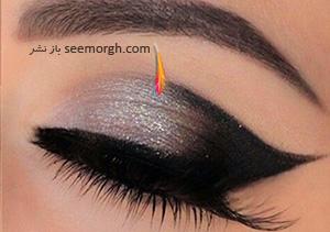 آرایش چشم دودی، این بار مخصوص عروس خانم ها + آموزش تصویری
