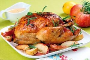 مرغ شکم پر را با این دستور بی نقص درست کنید!!