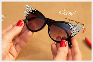 عینک آفتابی تان را طرحدار و مد روز کنید!!!