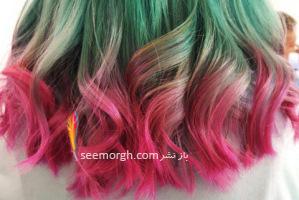 رنگ مو : زیباترین رنگ موهای فانتزی برای تابستان 2016!!
