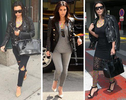 بهترین مدل لباس و تیپ های کیم کارداشیان در دنیای مد!!!