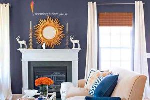5 دیوار تیره که دکوراسیون داخلی خانه تان را دگرگون می کنند