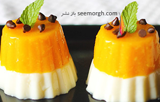 دسر انبه پرتقالی، یک دسر تابستانی خوشمزه