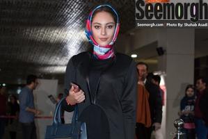 مدل لباس بازیگران زن در اکران خصوصی آخرین بار کی سحر رو دیدی