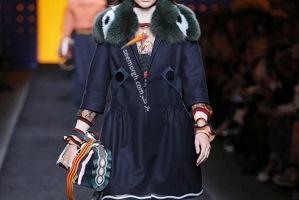 فندی : مدل مانتو و کت زنانه برای پاییز 2016