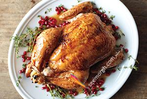 مرغ بریان با سس انار، یک شام خوشمزه برای شب یلدا