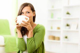 کاهش وزن با یک چای خانگی