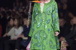 کلکسیون لباس زنانه دیور با الهام از طرحهای بته جقه ای ایرانی