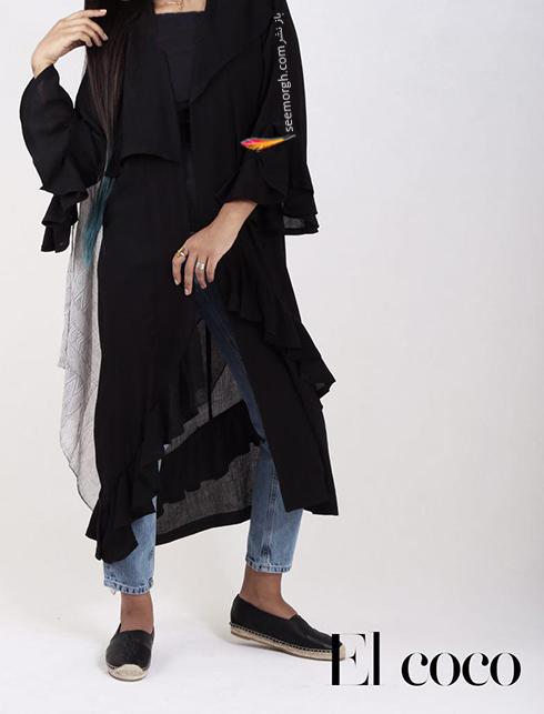 مدل مانتو برند ال کوکو برای تابستان 1396 - مدل شماره 8