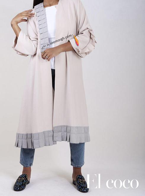 مدل مانتو برند ال کوکو برای تابستان 1396 - مدل شماره 10