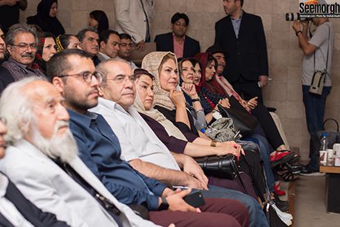 جشن تولد مهرانه مهین ترابی با حضور هنرمندان
