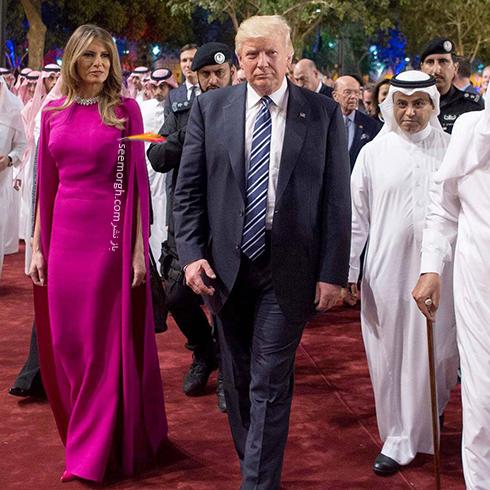 پیراهن ملانیا ترامپ Mela Trump - عکس شماره 8