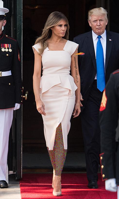 پیراهن ملانیا ترامپ Mela Trump - عکس شماره 5