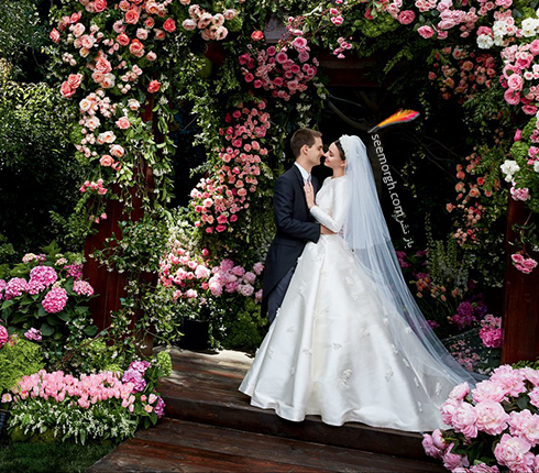 مراسم عروسی میراندا کر Miranda Kerr و ایوان اشپیگل  Evan Spiegel - عکس شماره 2