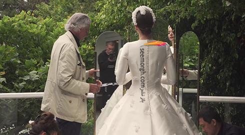 لباس عروس میراندا کر Miranda Kerr - عکس شماره 3