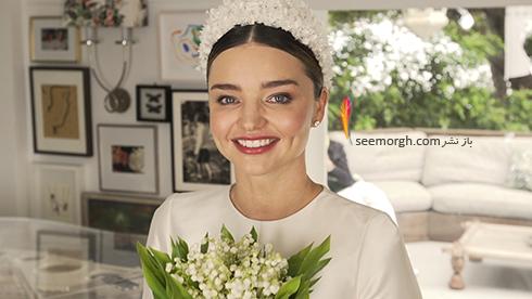 لباس عروس میراندا کر Miranda Kerr - عکس شماره 1