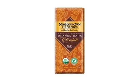 شکلات تلخ 54 درصد ارگانیک پرتقالی نیومن اون