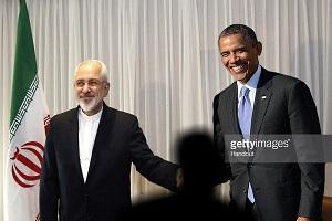دست دادن ظریف با اوباما هم جعل شد +عکس