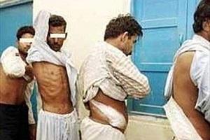کار کثیف داعش قبل از اعدام با زندانی های بخت برگشته