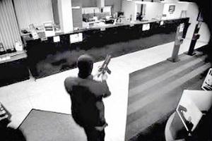 سرقت مسلحانه از بانک ملت و فرار سارقان