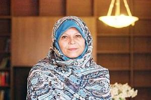 فائزه هاشمی: با حکومت دینی مخالفم + فیلم