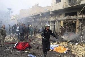 چهره عاملان انفجار در سامرا