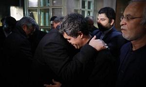 آخرين لحظات دفن پیکر آيت الله هاشمی رفسنجانی