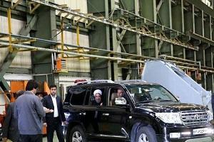 معرفی خودروی امنیتی حسن روحانی + عکس