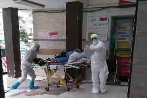 عکس اولین بیمار تب کنگو در ساری