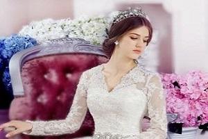 لباس ۲۴۴ میلیونی برای عروس!