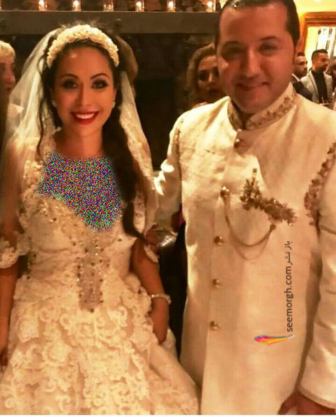 جشن عروسی حامد نیک پی و همسرش