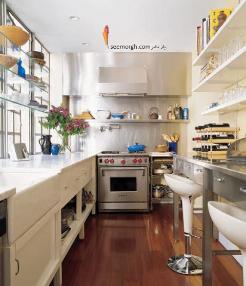 Kitchen Galleries Photos: آشپزخانه های کوچک را چگونه بچینیم؟